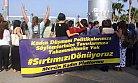 Kadınlar Mersin'de Cumhurbaşkanına Sırtlarını Döndüler