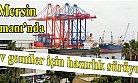 Mersin Liman İnşaatı İçin 50 Milyon Dolarlık Dev Vinçler Geldi.