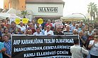 Mersin'de Aleviler Cemevine Gazlı Saldırıyı Protesto Etti