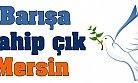 Mersin'de Barışa Sahip Çıkalım Çağrısı