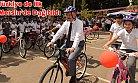 Mersin'de Öğrencilere Bisiklet Dağıtıldı.