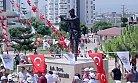 Mersin'de Ömer Halisdemir'in Anıt Heykeli Açıldı