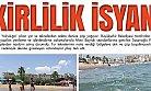 Mersin'de Tekne Turlarının Bıraktığı Pislik Sahillerde Büyük Kirlilik Yaratıyor