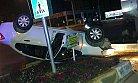 Mersin'de Yaşanılan Feci Trafik Kazasında Can Kaybı Olmadan Atlatıldı