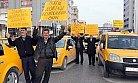 Mersinli Taksiciler Zamları Protesto Etti