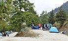 Meteor Yağmurunu İzlemek İçin Kamp Kurdular