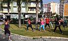 Mezitli'de Kadınlar 'Zumba' Dansı ile Spor Yapıyor