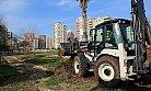 Mezitli'de Yıkılan Tesislerin Yerine Park Yapılıyor