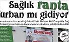 Mezitli'deki Mehmet Akif Ersoy Aile Sağlığı Merkezi Ranta mı Kurban Gidiyor ?