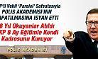 MHP'li Vekil Polis Akademisinin Kapatılmasına İsyan Etti