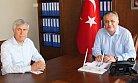 Milletvekili Tezcan'dan, Silifke Kaymakamı Cinbir'e Ziyaret