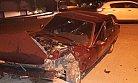 Mut İlçesinde Otomobilin Çarpıştığı Kazada 2 Kişi Yaralandı.