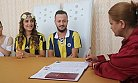 Nikah Masasına Fenerbahçe Forması ile Geldiler