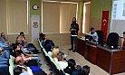 Polisten Belediye Çalışanlarına Bağımlılıkla Mücadele Eğitimi
