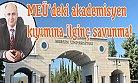 Rektör'den Mersin Üniversitesinde Akademisyen Kıyımı