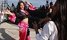Romanlar Mersin'de Festivalde Coştu