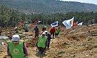 Silifke'deki Maden Sahasına Bin 600 Fidan Dikildi