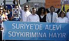 Suriye'de ki Alevi Katliamı Protesto Edildi