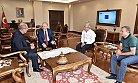 TCDD Genel Müdürü Apaydın, Vali Çakacak'ı Ziyaret Etti