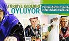 Türkiye Yeni Anayasayı Oyluyor! Sandık Başından Kareler