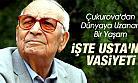 Yaşar Kemal'in Vasiyeti