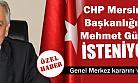 Yeni CHP İl Başkanı Mehmet Güner mi ?