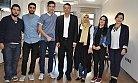 Yüksekokul Öğrencilerinden Başkan Turgut'a Ziyaret
