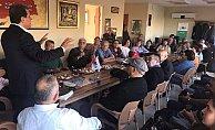 Vahap Seçer Erdemli'de Tema Gönüllüleri İle Buluştu.