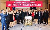 Mersin'de Muhasebeciler Odalarının 28.Yılını Kutladı.
