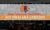 Mersin Üniversitesi Türkiye Sıralamasında Geriledi
