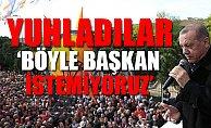 Erdoğan'ın İstanbul'daki Mitinginde AKP'liler Yuhladı
