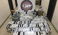Mersin'de 12 Bin 620 Paket Kaçak Sigara Ele Geçirildi
