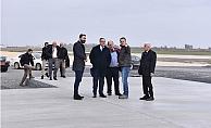 Çukurova Bölgesel Havalimanı'nın Ana Pistinin Yüzde 70'i Tamamlandı
