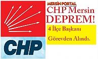CHP Mersin#39;de Deprem!