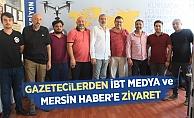 Gazetecilerden İbt Medya ve Mersin Haber'e Ziyaret