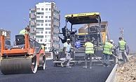 Mersin Yenişehir'de Asfalt Çalışmaları Sürüyor