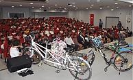 Toroslar'dan, Okullarda Güvenli Bisiklet Sürme Eğitimi