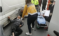 Tarsus Bisiklet Sürücüsüne Araba Çarptı