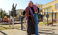 Toroslar'da Yaşlılar Açık Havada Sporun Keyfini Çıkarıyor