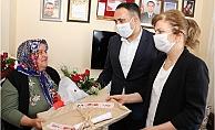 Başkan Yılmaz'dan Şehit Annelerine Anlamlı Ziyaret