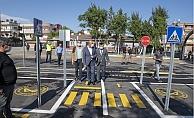Büyükşehir'den Güneş İlkokuluna Trafik Eğitim Parkı