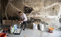 Büyükşehir, Yanan Evleri Küllerinden Yeniden İnşa Ediyor