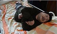 Yatağa Mahkum Übeytullah'ın Ortopedik Yatak Mutluluğu