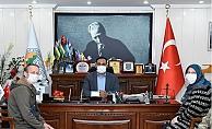 Başkan Yılmaz'dan Yaralı Mehmetçiğe Yardım Eli