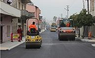 Büyükşehir Belediyesinden Kazanlı'da Asfalt Çalışması
