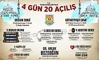 Tarsus Belediyesinden Hizmet Atağı; 4 Günde 20 Açılış