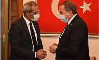CHP Genel Bşk.Yrd Seyit Torun'dan Başkan Bozdoğan'a Ziyaret