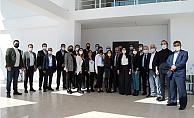 DEVA Partisi Mersin Ekibi, Bölge Koordinatörü Satıcı ile Bir Araya Geldi