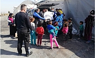 Mersin Toplum Destekli Şube Polisleri, Çocukları Unutmadı.