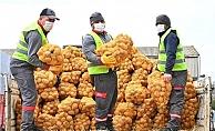 Aya Gidecektik...Patates Soğan Dağıtımına Başladık